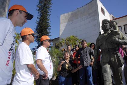 Moisés Rodríguez, Carlos Serpa y Dalexis González
