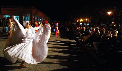 grupo de danza 13 de marzo, aficionados de la Universidad Central de Las Villas