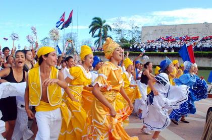 1ro de mayo en Santa Clara, Villa Clara, Cuba