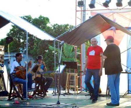 Concierto de Silvio Rodríguez en el Reparto Condado de Santa Clara.