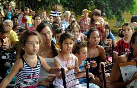 Concierto de Liuba en santa Clara